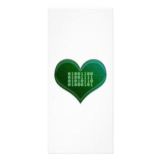 Binary LOVE Customized Rack Card