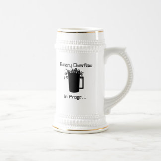 Binary Overflow Beer Stein