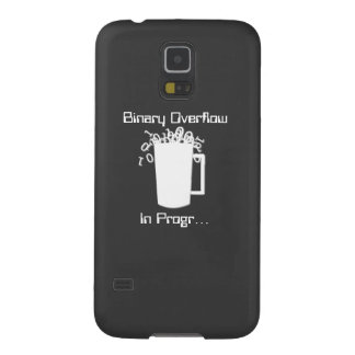 Binary Overflow Case For Galaxy S5