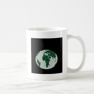 Binary Planet - digital world Coffee Mug