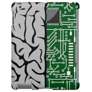 Binary Thinking Hi-Tech  Human Brain iPad Case