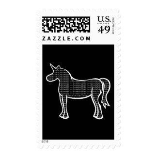 Binary Unicorn Postage