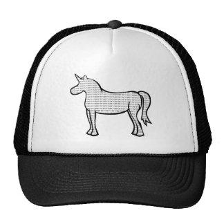 Binary Unicorn Trucker Hat