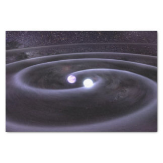 "Binary White Dwarf 10"" X 15"" Tissue Paper"