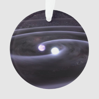 Binary White Dwarf Ornament