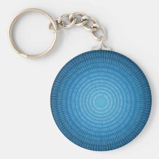 Binary World Keychains