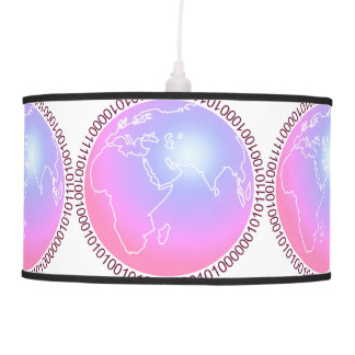 Binary World Ceiling Lamps