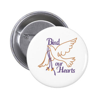 Bind Our Hearts 2 Inch Round Button