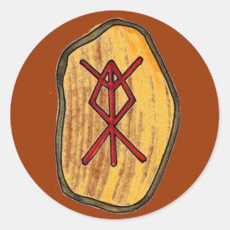 Bind Rune: Home Protection Round Sticker