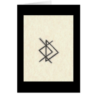 BIND RUNE -PROMOTE LOVE - WOMAN FOR MAN CARD