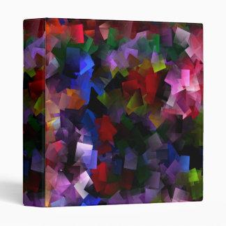 Binder 13 Rainbow squares