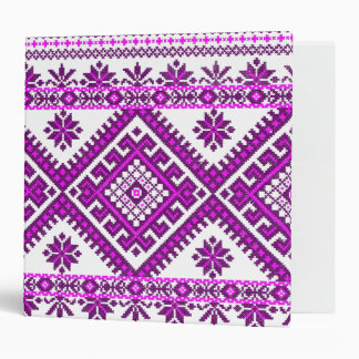 Binder 3 Ring Ukrainian Embroidery Print