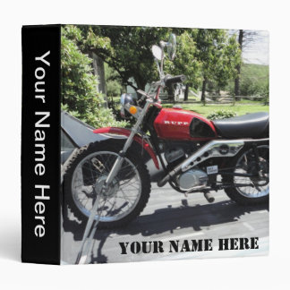 Binder, '72 Rupp Antique Motorcycle Binder
