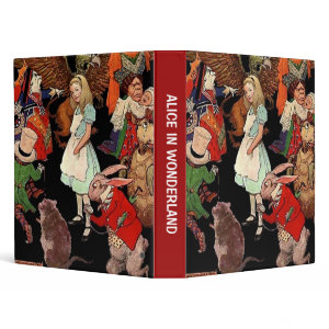Binder Alice in Wonderland binder