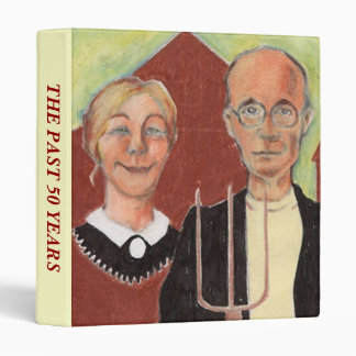 BINDER AMERICAN GOTHIC JOURNAL YOUR LIFE TOGETHER