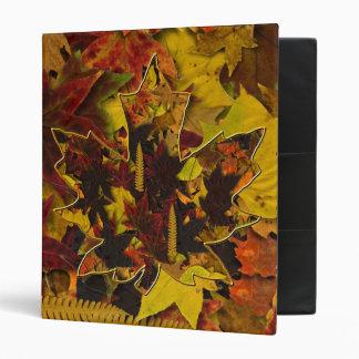 Binder - Autumn Leaves & Gold