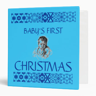 BINDER BABY'S FIRST CHRISTMAS