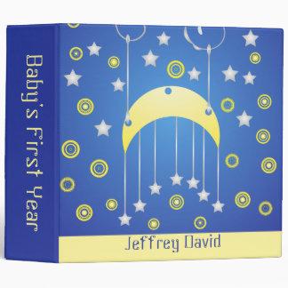 Binder: Baby's First Year Keepsake Album 3 Ring Binder