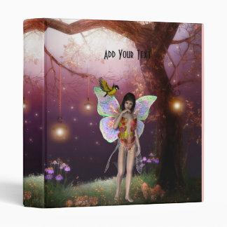 Binder Bird Little Girl Fairy