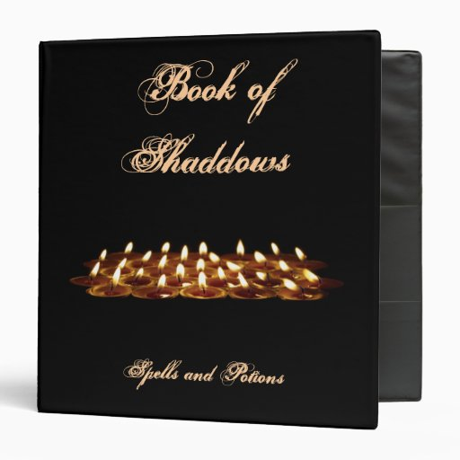 Binder - Black Candles book of shadows