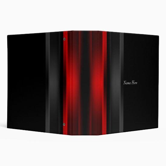 Binder Black Red Photos Business Office