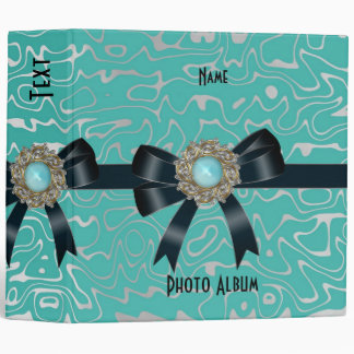 Binder Black Ultra Teal Jewel Photo Album