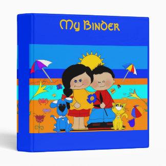 Binder Boys Girls Friends Fun Day At The Beach 2