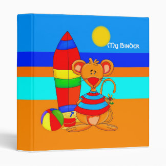 Binder Boys Mouse At The Beach Animals