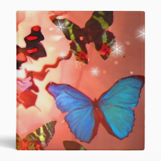Binder, Butterfly Heaven in Copper Binder