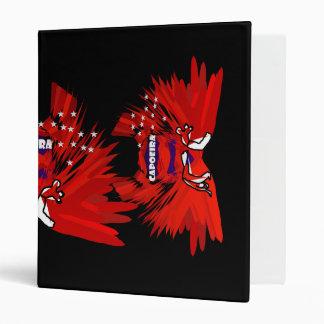 binder capoeira martial arts red black axe