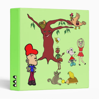 """binder """"cartoon"""" animals"""