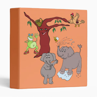 "binder ""cartoon"" funny animals"