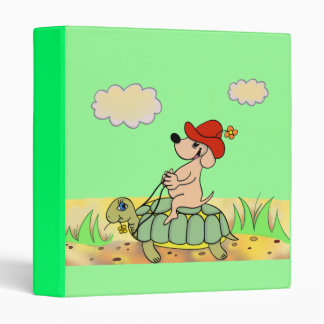 """binder """"cartoon"""" funny tortle and horse"""
