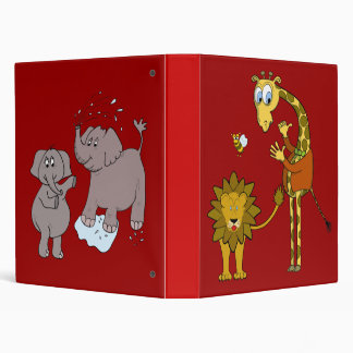 "binder ""cartoon"" giraffe"