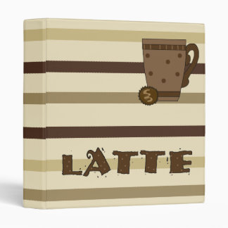 Binder Coffee Latte Lovers