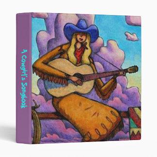 BINDER ~ COWGIRL GAL COUNTRY WESTERN SINGER SONGS