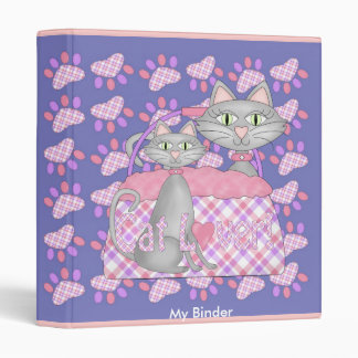 Binder Cute Cats Love Cat Lover Products