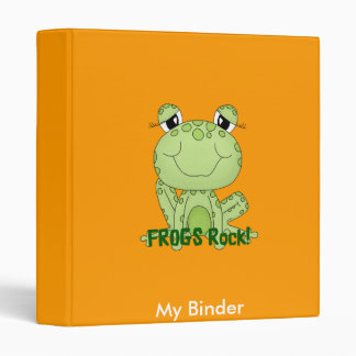Binder Cute Frogs Rock Love Frog Products