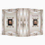 Binder Engagement Photo Album Cream Art Deco Binders
