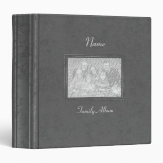 Binder - Family Photo Album (antique grey)