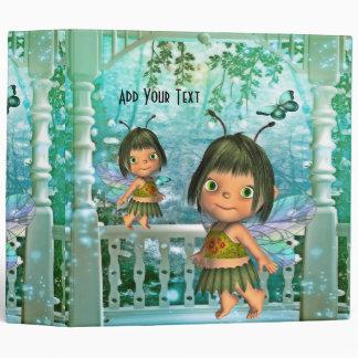 Binder Fantasy Art Little Fairy Girls