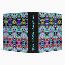 Binder Floral abstract background