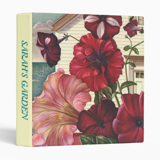 BINDER ~ FLOWER GARDENING NOTEBOOK RECORDS SUCCESS