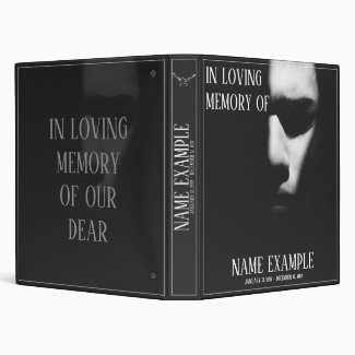 Binder for Funeral and Bereavements