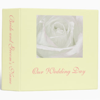 Binder for Wedding Day Photography