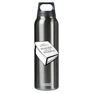 BINDER FULL OF WOMEN 16 OZ INSULATED SIGG THERMOS WATER BOTTLE
