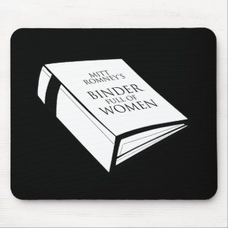 BINDER FULL OF WOMEN COSTUME MOUSE PADS