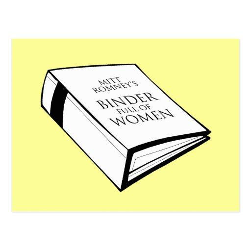 BINDER FULL OF WOMEN COSTUME POST CARD