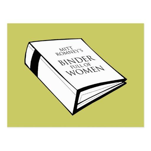 BINDER FULL OF WOMEN COSTUME POST CARDS