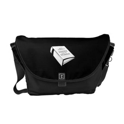 BINDER FULL OF WOMEN MESSENGER BAG